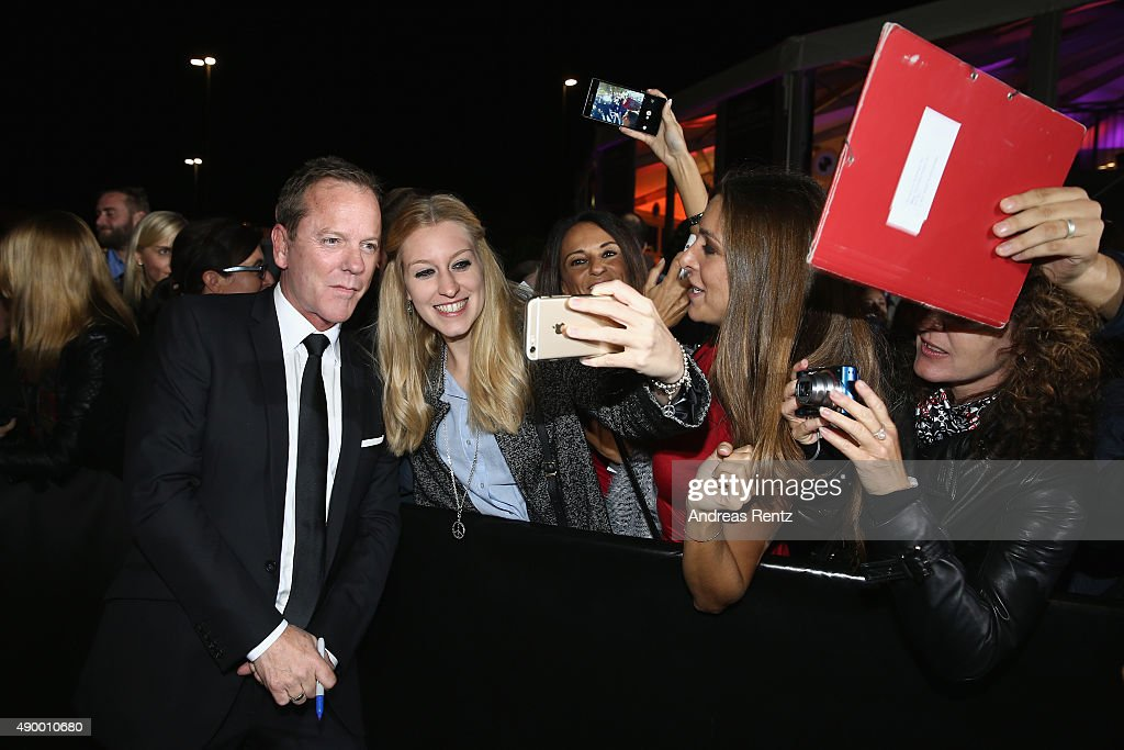Actor Kiefer Sutherland attends the 'Forsaken' Premiere during the Zurich Film Festival on September 25, 2015 in Zurich, Switzerland. The 11th Zurich Film Festival will take place from September 23 until October 4.