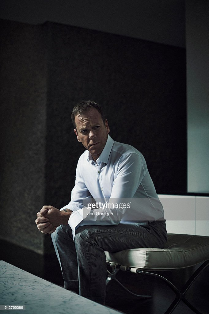 Actor <a gi-track='captionPersonalityLinkClicked' href=/galleries/search?phrase=Kiefer+Sutherland&family=editorial&specificpeople=203142 ng-click='$event.stopPropagation()'>Kiefer Sutherland</a> is photographed for Esquire magazine on March 26, 2014 in London, England.
