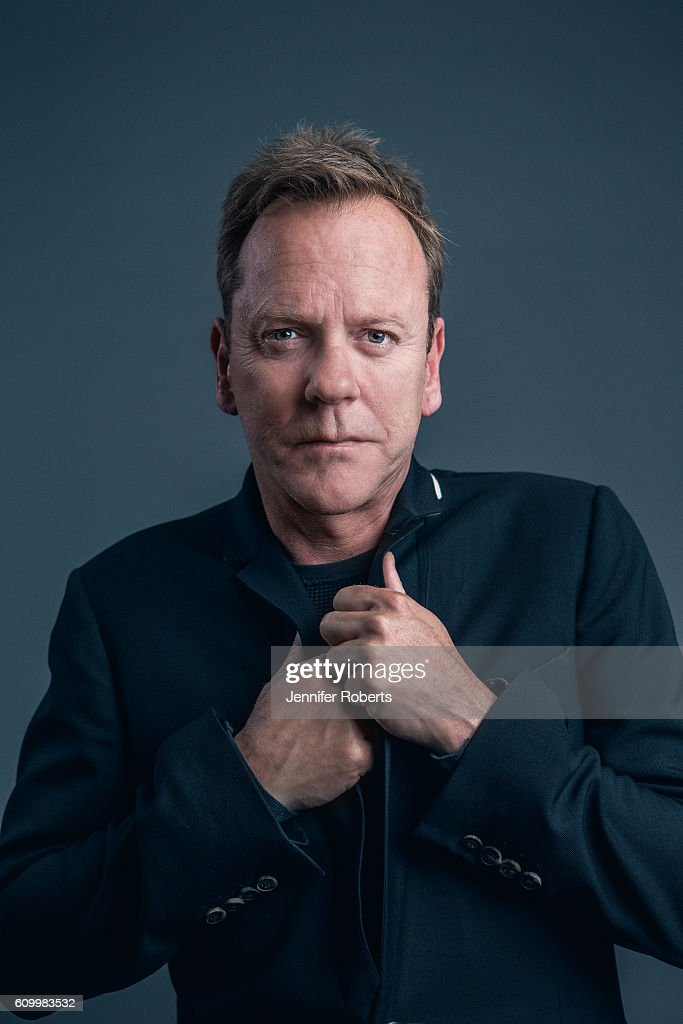 Actor Kiefer Sutherland is photographed for Wall Street Journal on August 10, 2016 in Toronto, Ontario. ON