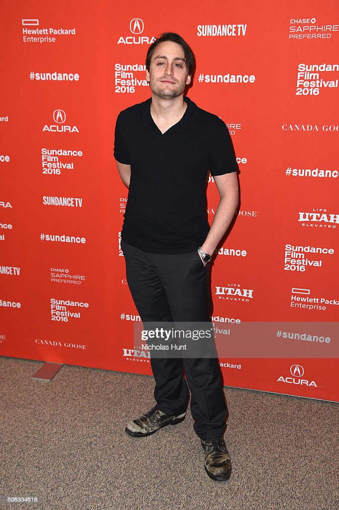 Actor Kieran Culkin attends the 'Wiener-Dog' Premiere at Eccles Center Theatre on January 22, 2016 in Park City, Utah.