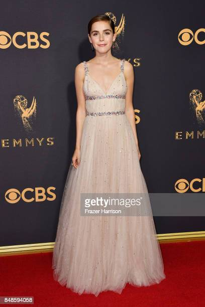 Actor Kiernan Shipka attends the 69th Annual Primetime Emmy Awards at Microsoft Theater on September 17 2017 in Los Angeles California