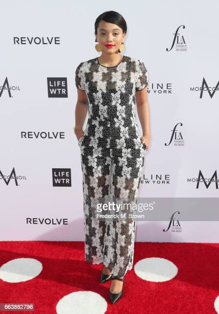 Actor Kiersey Clemons attends the Daily Front Row's 3rd Annual Fashion Los Angeles Awards at Sunset Tower Hotel on April 2 2017 in West Hollywood...