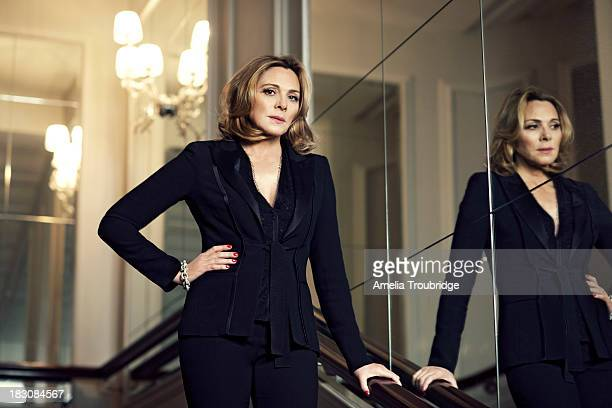 Actor Kim Cattrall is photographed for ES magazine on June 25 2013 in London England