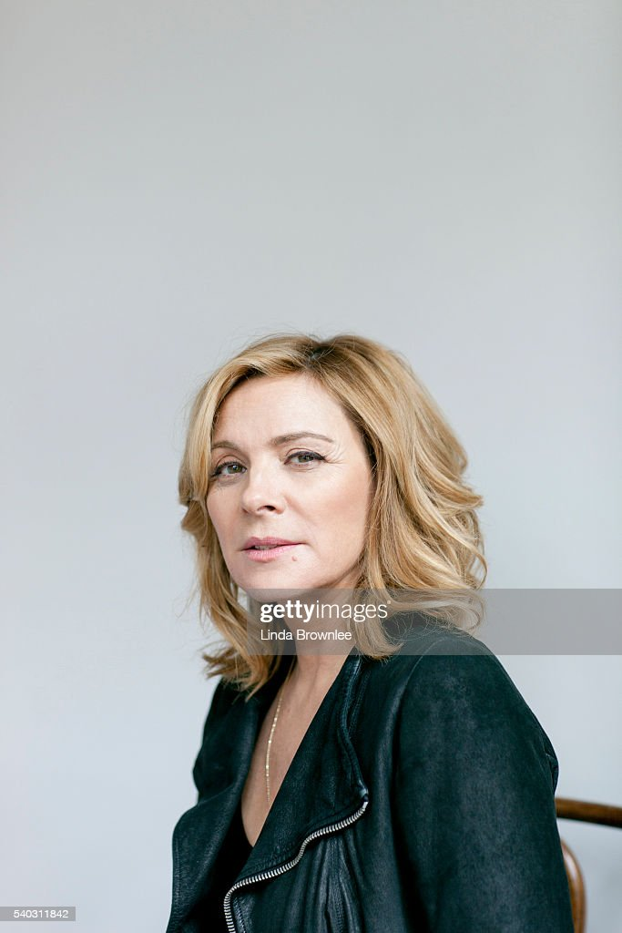 Actor Kim Cattrall is photographed for the Telegraph on October 22, 2015 in London, England.