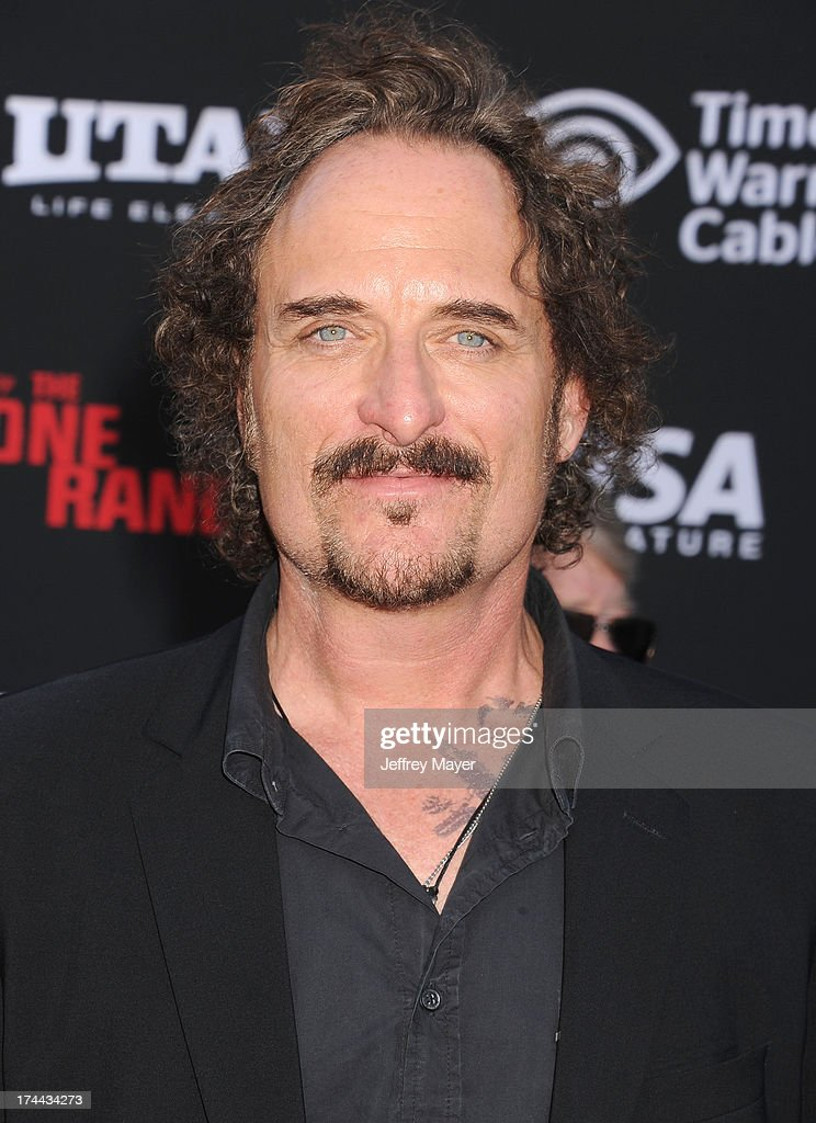 Actor <a gi-track='captionPersonalityLinkClicked' href=/galleries/search?phrase=Kim+Coates&family=editorial&specificpeople=678530 ng-click='$event.stopPropagation()'>Kim Coates</a> arrives at 'The Lone Ranger' World Premiere at Disney's California Adventure on June 22, 2013 in Anaheim, California.