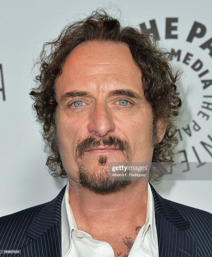 Actor <a gi-track='captionPersonalityLinkClicked' href=/galleries/search?phrase=Kim+Coates&family=editorial&specificpeople=678530 ng-click='$event.stopPropagation()'>Kim Coates</a> arrives at The Paley Center for Media's 2013 benefit gala honoring FX Networks with the Paley Prize for Innovation & Excellence at Fox Studio Lot on October 16, 2013 in Century City, California.