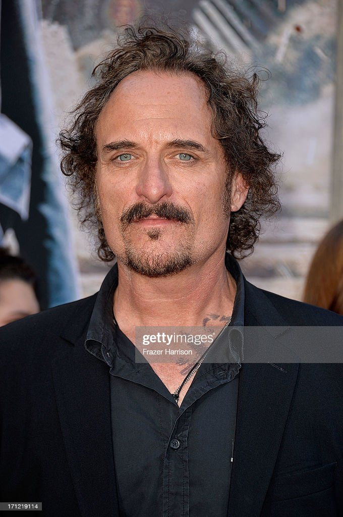Actor Kim Coates arrives at the premiere of Walt Disney Pictures' 'The Lone Ranger' at Disney California Adventure Park on June 22, 2013 in Anaheim, California.