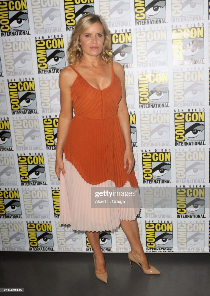 Actor Kim Dickens attends Comic-Con International 2017 AMC's 'Fear The Walking Dead' Panel at San Diego Convention Center on July 21, 2017 in San Diego, California.
