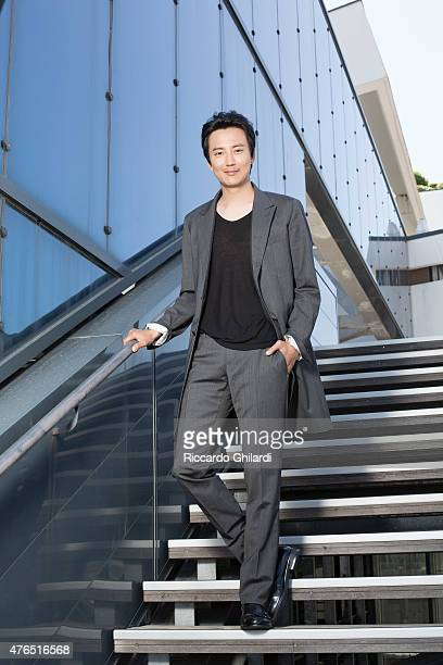 Actor Kim Nam Gil is photographed for Self Assignment on May 15 2015 in Cannes France