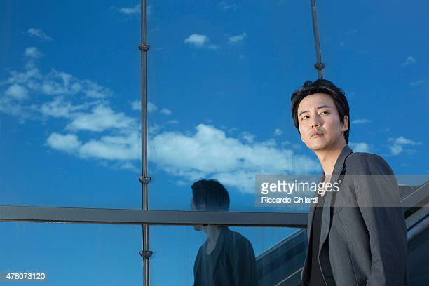 Actor Kim Nam Gil is photographed for Self Assignment on May 2015 in Cannes France