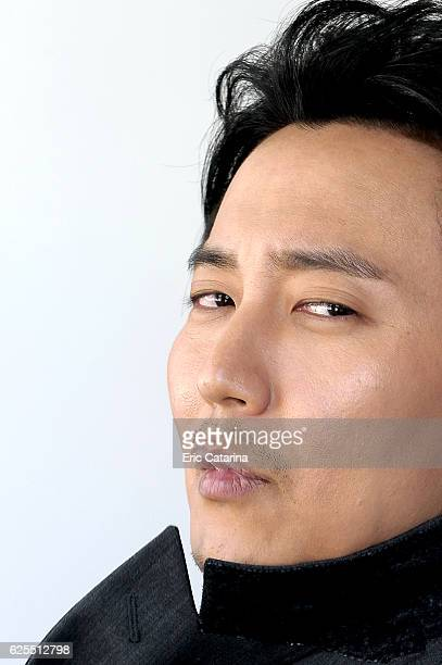 Actor Kim NamGil is photographed for Self Assignment on May 15 2015 in Cannes France