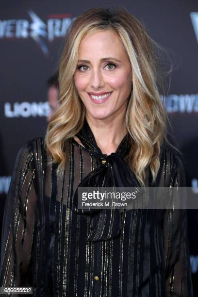 Actor Kim Raver at the premiere of Lionsgate's 'Power Rangers' on March 22 2017 in Westwood California