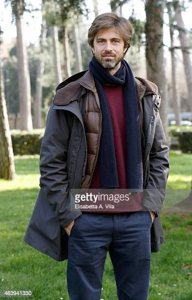 Actor Kim Rossi Stuart attends 'Maraviglioso Boccaccio' photocall at Villa Borghese on February 20 2015 in Rome Italy