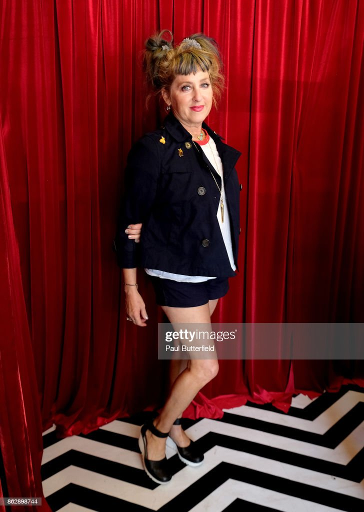 Actor Kimmy Robertson poses at Showtime's 'Twin Peaks' Double R Diner Pop-Up on Melrose Avenue on October 18, 2017 in Los Angeles, California.