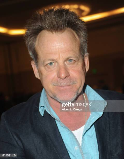 Actor Kin Shriner signs autographs at The Hollywood Show held at Westin LAX Hotel on July 8 2017 in Los Angeles California