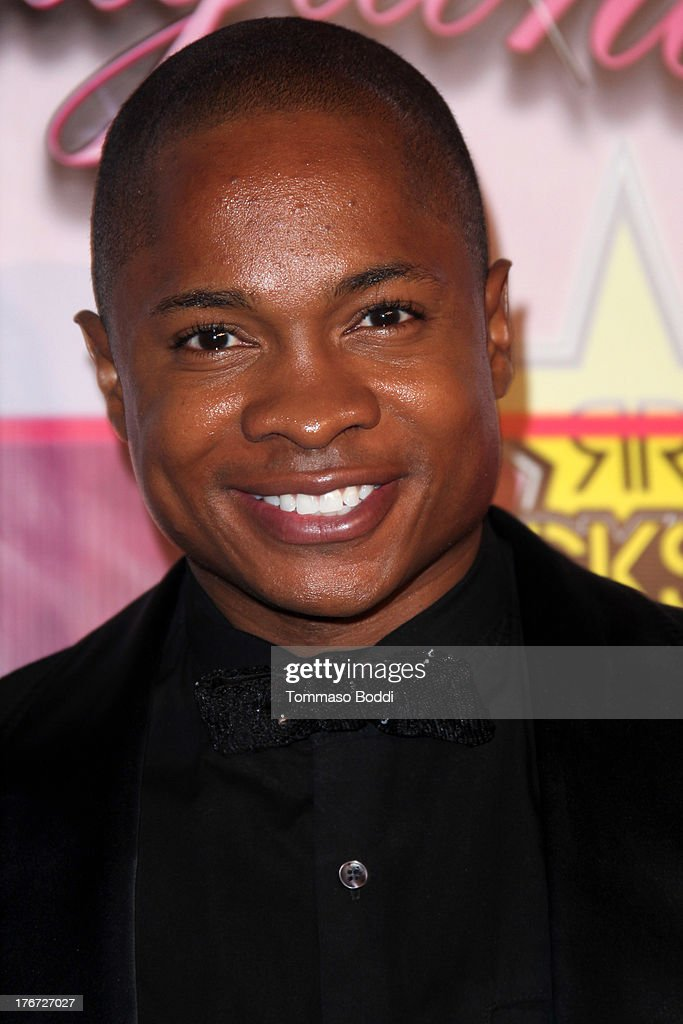 Actor King Sam Jones III attends the Karma International presents Kandyland 2013: 'An Evening Of Decadent Dreams' benefiting of Generation Rescue on August 17, 2013 in Beverly Hills, California.