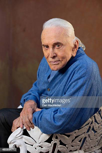 Actor Kirk Douglas is photographed USA Today on November 21 2014 in Beverly Hills California PUBLISHED IMAGE