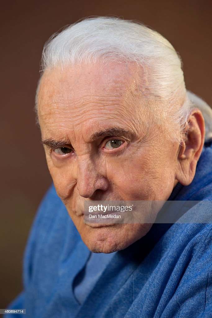 Actor Kirk Douglas is photographed USA Today on November 21, 2014 in Beverly Hills, California.