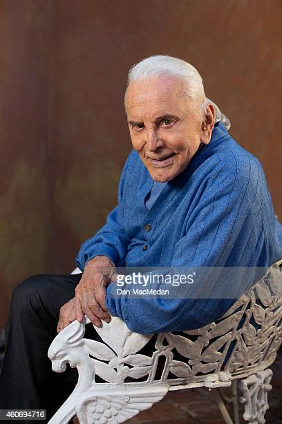 Actor Kirk Douglas is photographed USA Today on November 21 2014 in Beverly Hills California