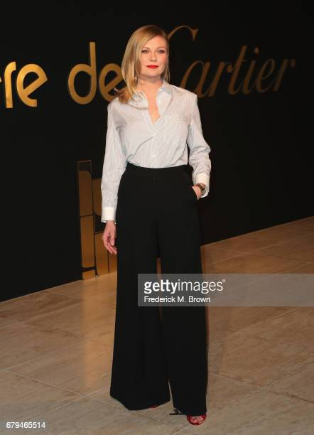 Actor Kirsten Dunst attends Panthere De Cartier Party In LA at Milk Studios on May 5 2017 in Los Angeles California