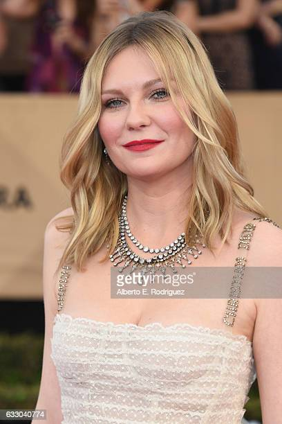 Actor Kirsten Dunst attends the 23rd Annual Screen Actors Guild Awards at The Shrine Expo Hall on January 29 2017 in Los Angeles California
