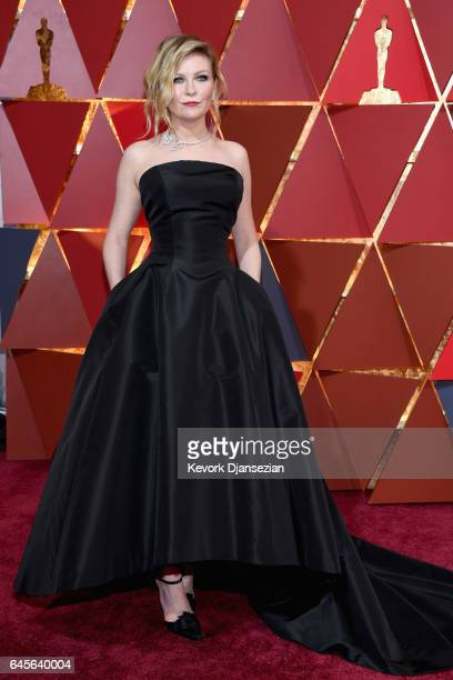 Actor Kirsten Dunst attends the 89th Annual Academy Awards at Hollywood Highland Center on February 26 2017 in Hollywood California