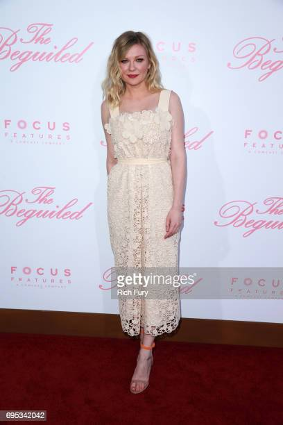 Actor Kirsten Dunst attends the premiere of Focus Features' 'The Beguiled' at the Directors Guild of America on June 12 2017 in Los Angeles California
