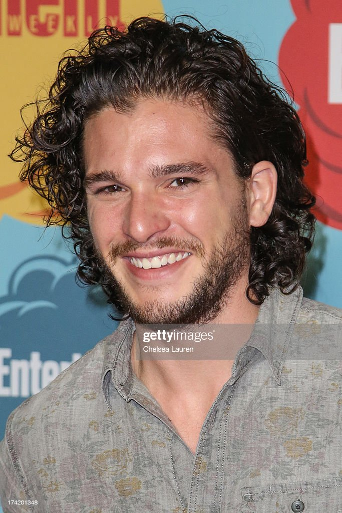 Actor <a gi-track='captionPersonalityLinkClicked' href=/galleries/search?phrase=Kit+Harington&family=editorial&specificpeople=7470548 ng-click='$event.stopPropagation()'>Kit Harington</a> arrives at Entertainment Weekly's annual Comic-Con celebration at Float at Hard Rock Hotel San Diego on July 20, 2013 in San Diego, California.