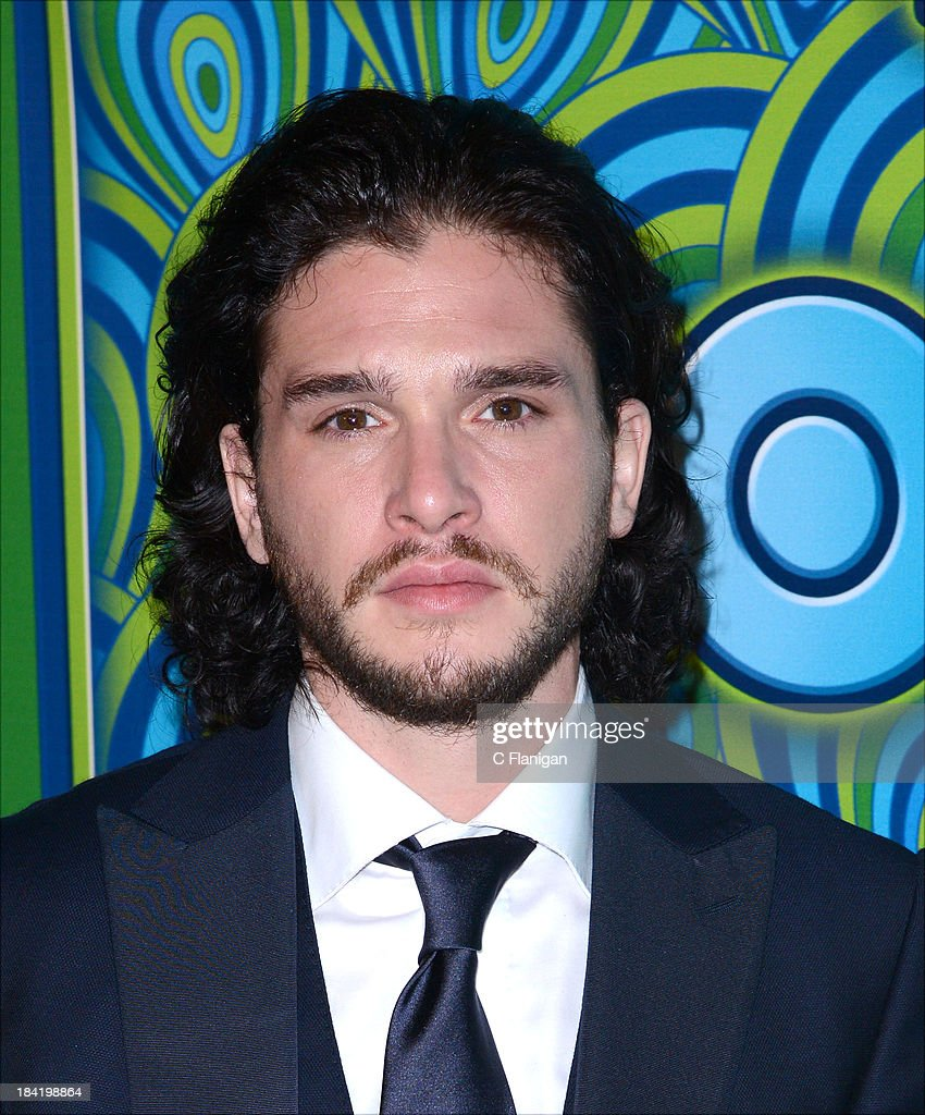 Actor <a gi-track='captionPersonalityLinkClicked' href=/galleries/search?phrase=Kit+Harington&family=editorial&specificpeople=7470548 ng-click='$event.stopPropagation()'>Kit Harington</a> arrives at HBO's Annual Primetime Emmy Awards Post Award Reception at The Plaza at the Pacific Design Center on September 22, 2013 in Los Angeles, California.