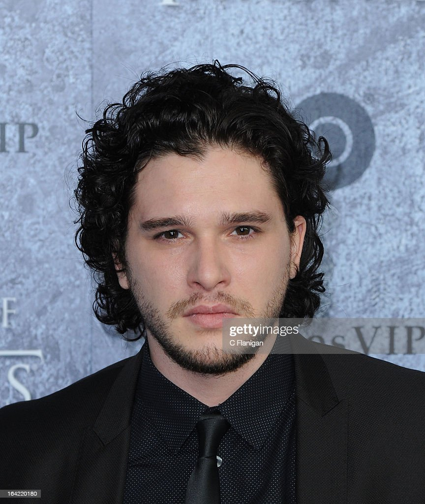 Actor <a gi-track='captionPersonalityLinkClicked' href=/galleries/search?phrase=Kit+Harington&family=editorial&specificpeople=7470548 ng-click='$event.stopPropagation()'>Kit Harington</a> arrives at the San Francisco Premiere For HBO's 'Game Of Thrones' Season 3 at Palace Of Fine Arts Theater on March 20, 2013 in San Francisco, California.