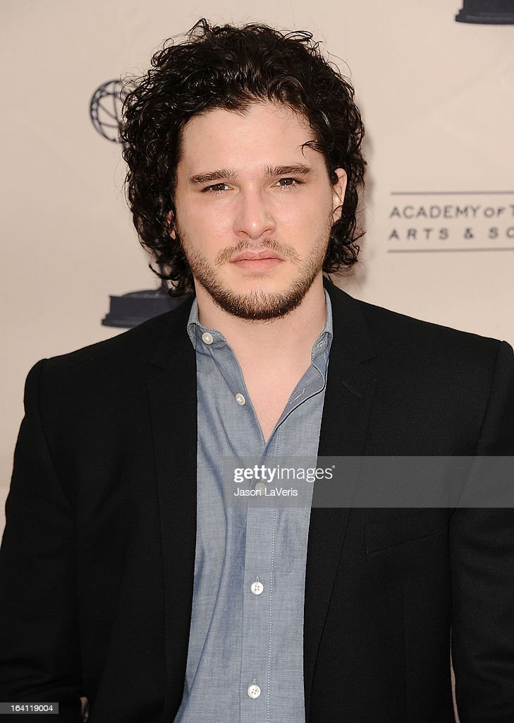 Actor Kit Harington attends an evening with 'Games Of Thrones' at TCL Chinese Theatre on March 19, 2013 in Hollywood, California.