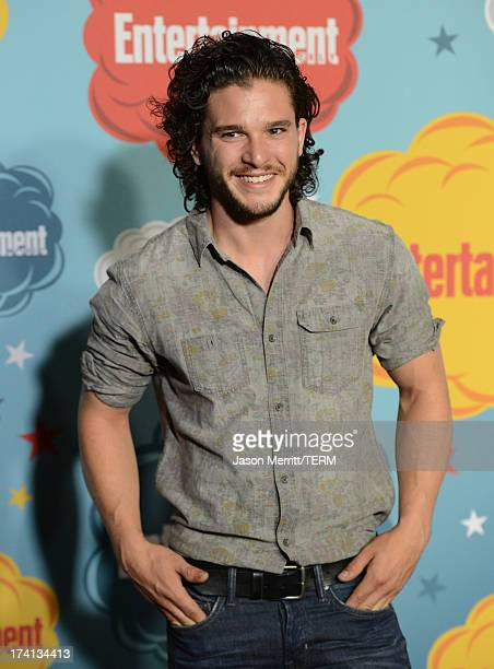 Actor Kit Harington attends Entertainment Weekly's Annual ComicCon Celebration at Float at Hard Rock Hotel San Diego on July 20 2013 in San Diego...