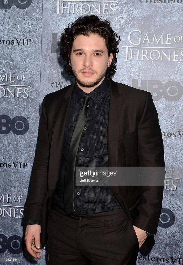 Actor Kit Harington attends HBO's 'Game Of Thrones' Season 3 San Francisco Premiere on March 20, 2013 in San Francisco, California.