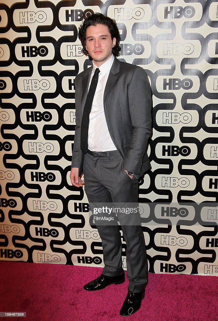 Actor <a gi-track='captionPersonalityLinkClicked' href=/galleries/search?phrase=Kit+Harington&family=editorial&specificpeople=7470548 ng-click='$event.stopPropagation()'>Kit Harington</a> attends HBO's Official Golden Globe Awards After Party held at Circa 55 Restaurant at The Beverly Hilton Hotel on January 13, 2013 in Beverly Hills, California.
