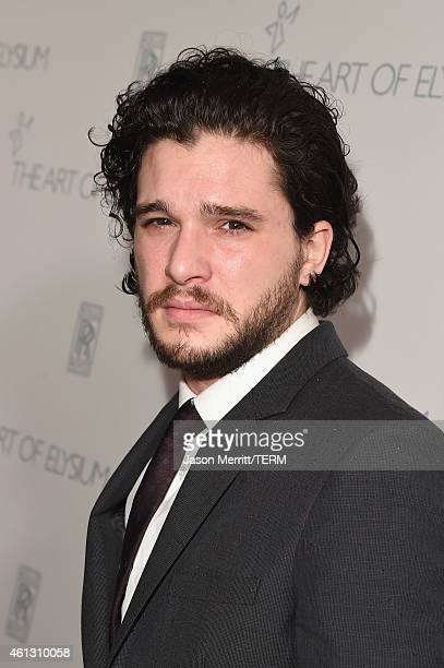 Actor Kit Harington attends the 8th Annual HEAVEN Gala presented by Art of Elysium and Samsung Galaxy at Hangar 8 on January 10 2015 in Los Angeles...