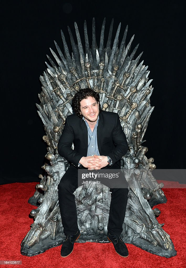 Actor Kit Harington attends the Academy of Television Arts & Sciences an evening with HBO's 'Game Of Thrones' at TCL Chinese Theatre on March 19, 2013 in Hollywood, California.