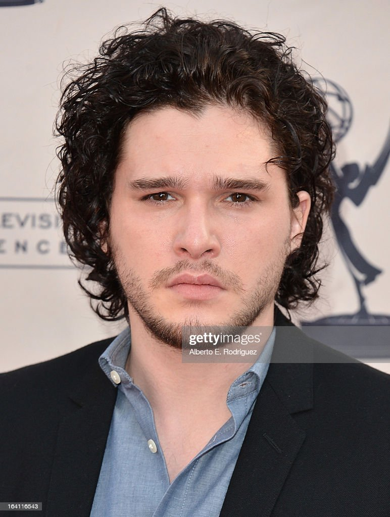 Actor <a gi-track='captionPersonalityLinkClicked' href=/galleries/search?phrase=Kit+Harington&family=editorial&specificpeople=7470548 ng-click='$event.stopPropagation()'>Kit Harington</a> attends The Academy of Television Arts & Sciences' Presents An Evening With 'Game of Thrones' at TCL Chinese Theatre on March 19, 2013 in Hollywood, California.