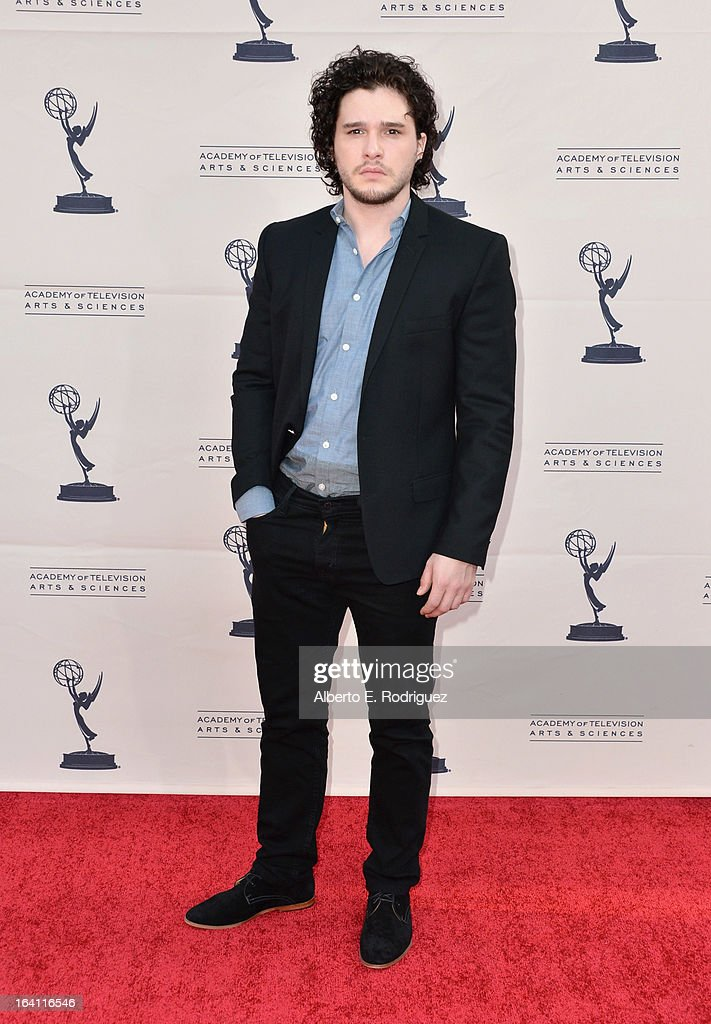 Actor Kit Harington attends The Academy of Television Arts & Sciences' Presents An Evening With 'Game of Thrones' at TCL Chinese Theatre on March 19, 2013 in Hollywood, California.