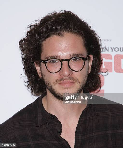 Actor Kit Harington attends the DreamWorks Animation 20th Century Fox screening of 'How To Train Your Dragon 2' at Crosby Street Hotel on June 11...
