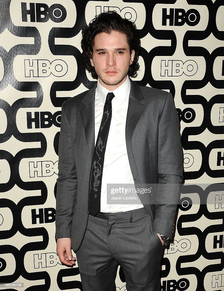 Actor Kit Harington attends the HBO after party at the 70th annual Golden Globe Awards at Circa 55 restaurant at the Beverly Hilton Hotel on January 13, 2013 in Los Angeles, California.