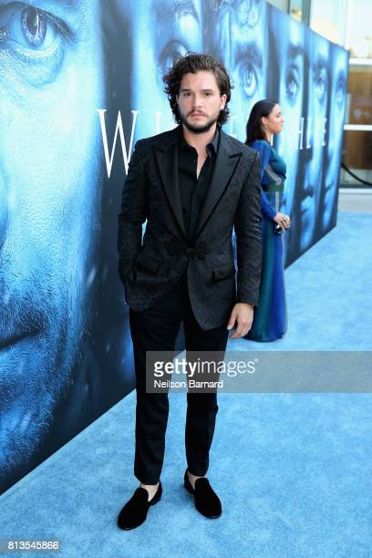 Actor Kit Harington attends the premiere of HBO's 'Game Of Thrones' season 7 at Walt Disney Concert Hall on July 12 2017 in Los Angeles California