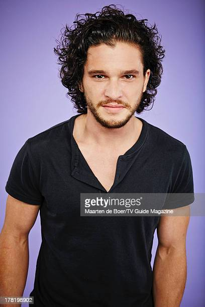 Actor Kit Harington is photographed for TV Guide Magazine on July 19 2013 on the TV Guide Magazine Yacht in San Diego California PUBLISHED IMAGE...