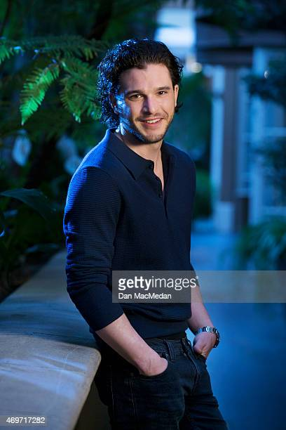 Actor Kit Harington is photographed for USA Today on March 24 2015 in Los Angeles California PUBLISHED IMAGE