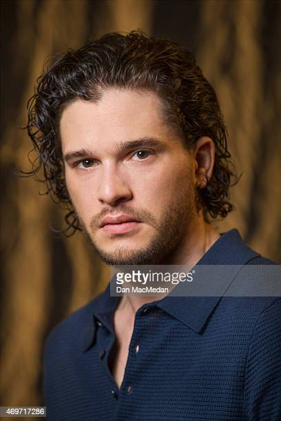 Actor Kit Harington is photographed for USA Today on March 24 2015 in Los Angeles California