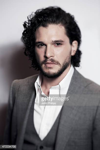 Actor Kit Harington is photographed on April 30 2015 in London England