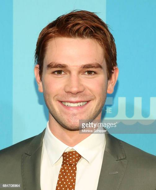 Actor KJ Apa attends the 2017 CW Upfront on May 18 2017 in New York City