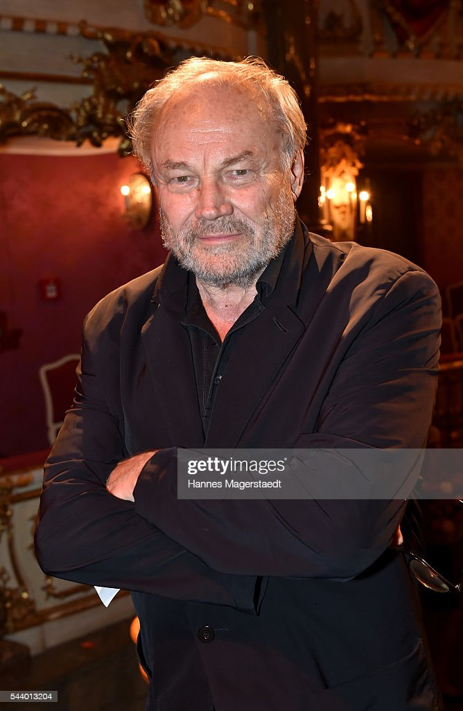 Actor <a gi-track='captionPersonalityLinkClicked' href=/galleries/search?phrase=Klaus+Maria+Brandauer&family=editorial&specificpeople=796752 ng-click='$event.stopPropagation()'>Klaus Maria Brandauer</a> attends the Bernhard Wicki Award (Friedenspreis des Deutschen Films) during the Munich Film Festival 2016 at Cuvilles Theatre on June 30, 2016 in Munich, Germany.