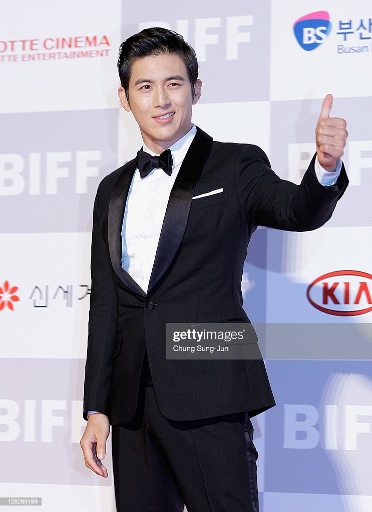 Actor Ko Soo arrives for the opening ceremony of the 16th Busan International Film Festival (BIFF) at the Busan Cinema Center on October 6, 2011 in Busan, South Korea. The biggest film festival in Asia showcases 307 films from 70 countries and runs from October 6-14.