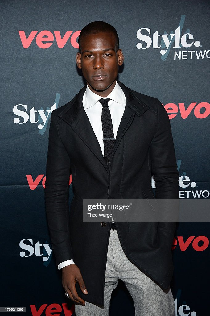 Actor Kofi Siriboe attends the VEVO and Styled To Rock Celebration Hosted by Actress, Model and 'Styled to Rock' Mentor Erin Wasson with Performances by Bridget Kelly & Cazzette on September 5, 2013 in New York City.