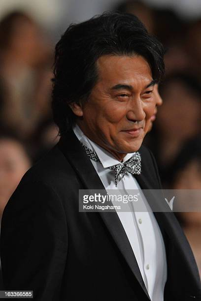 Actor Koji Yakusho attends the 36th Japan Academy Prize Award Ceremony at Grand Prince Hotel Shin Takanawa on March 8 2013 in Tokyo Japan